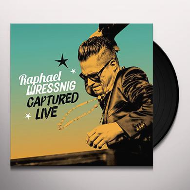 Raphael Wressnig CAPTURED LIVE Vinyl Record