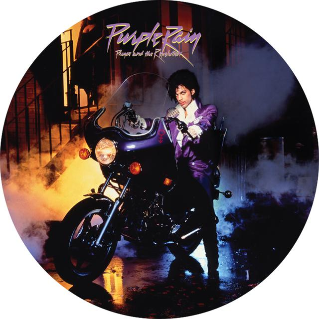 Prince & The Revolution PURPLE RAIN: LIMITED PICTURE DISC Vinyl Record