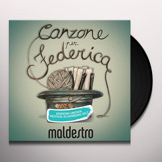 Maldestro CANZONE PER FEDERICA Vinyl Record