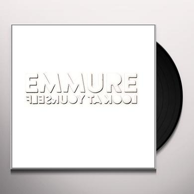 Emmure LOOK AT YOURSELF (WHITE VINYL) Vinyl Record