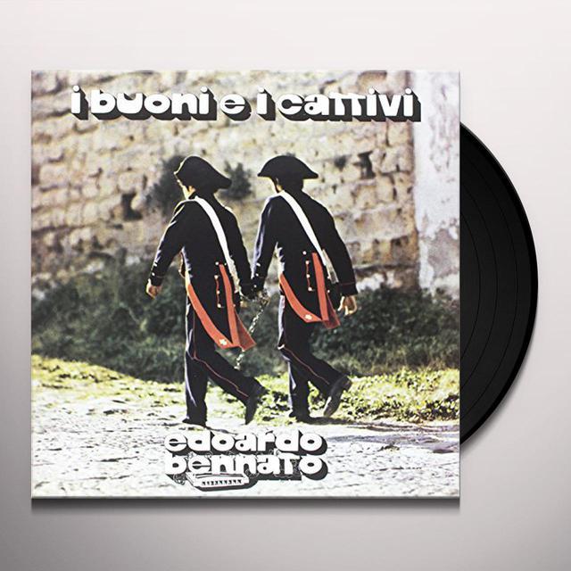 Edoardo Bennato I BUONI E I CATTIVI Vinyl Record