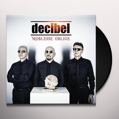Decibel NOBLESSE OBLIGE Vinyl Record