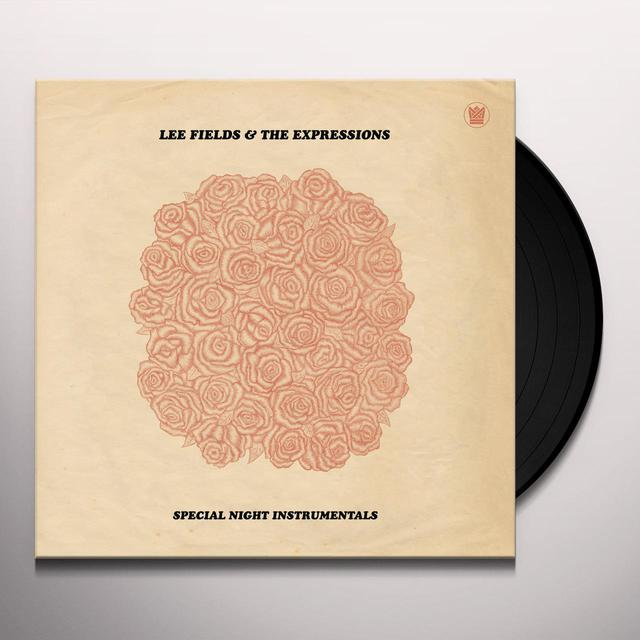 Lee Fields & Exporessions SPECIAL NIGHT INSTRUMENTALS Vinyl Record