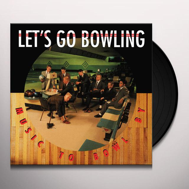 Let's Go Bowling MUSIC TO BOWL BY Vinyl Record