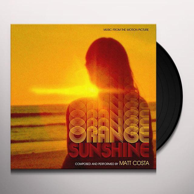 Matt Costa ORANGE SUNSHINE / O.S.T. Vinyl Record
