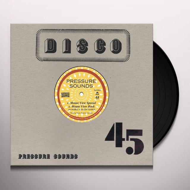 Jah Wobble / Diggory Kenrick MOUNT VIEW SPECIAL / MOUNT VIEW BREAKDOWN Vinyl Record