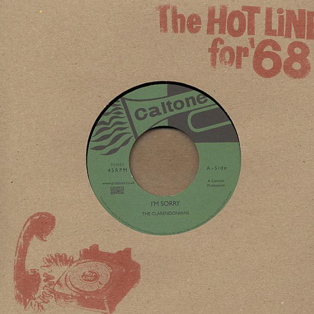 Clarendonians / Tartans I'M SORRY / IT'S ALRIGHT Vinyl Record