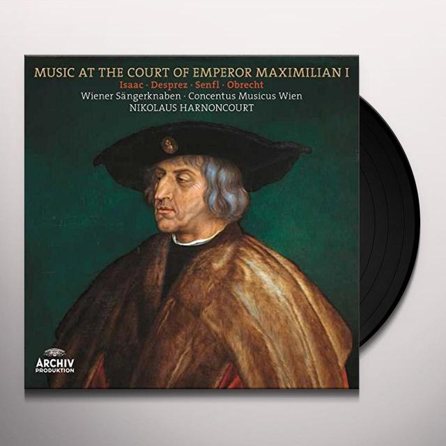 Harnoncourt / Concentus Musicus Vienna / Wiener MUSIC AT THE COURT OF EMPEROR MAXIMILIAN I Vinyl Record