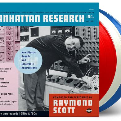 Raymond Scott MANHATTAN RESEARCH INC. Vinyl Record