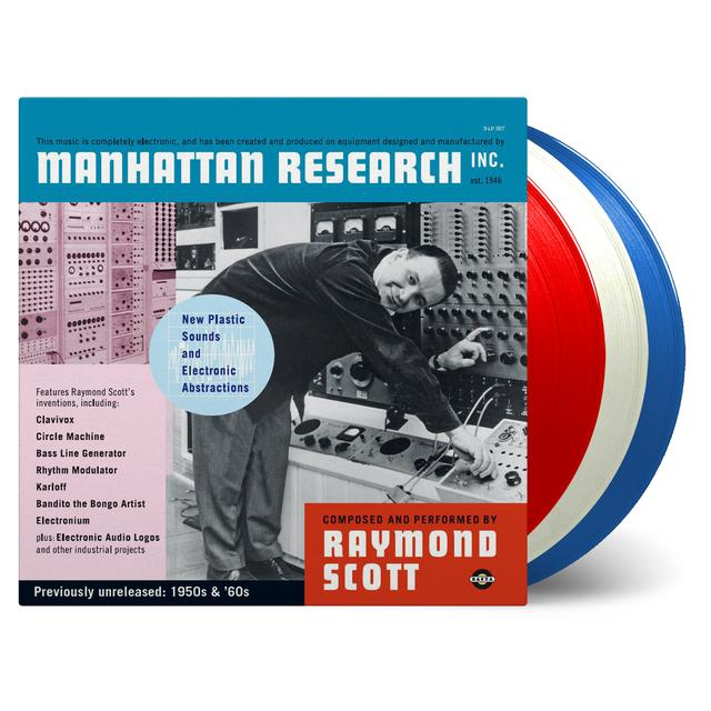 Raymond Scott MANHATTAN RESEARCH INC. Vinyl Record