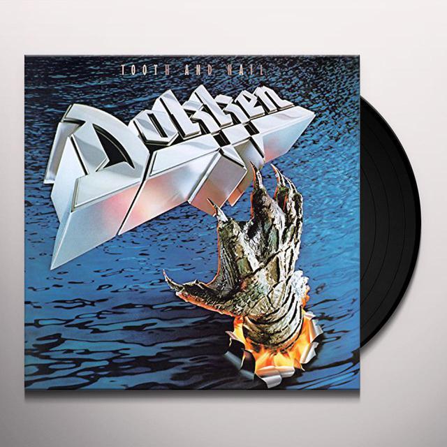Dokken TOOTH & NAIL Vinyl Record