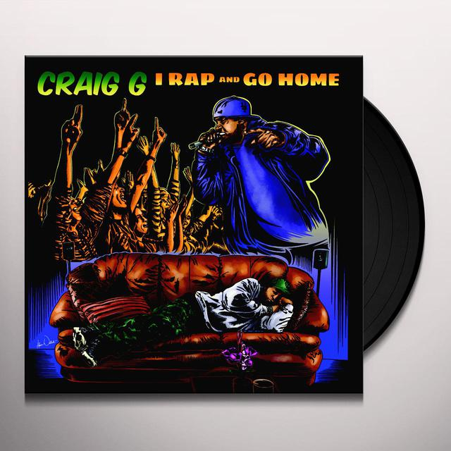 Craig G I RAP & GO HOME Vinyl Record