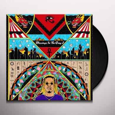 AKTHESAVIOR BLESSINGS IN THE GRAY 2 Vinyl Record