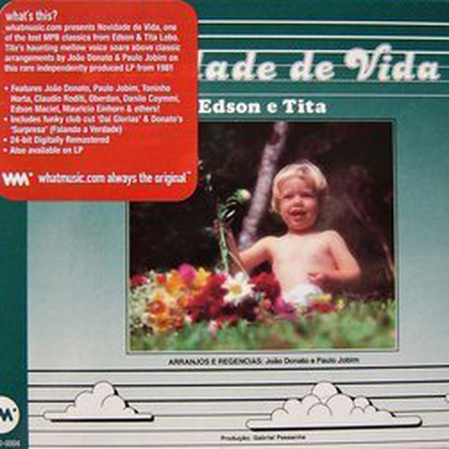 Edson & Tita Lobo NOVIDADE DE VIDA Vinyl Record