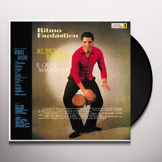 Rubens E Os 11 Maginficos Bassini RITMO FANTASTICO Vinyl Record