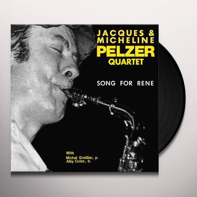 Jacques Pelzer & Micheline SONG FOR RENE Vinyl Record