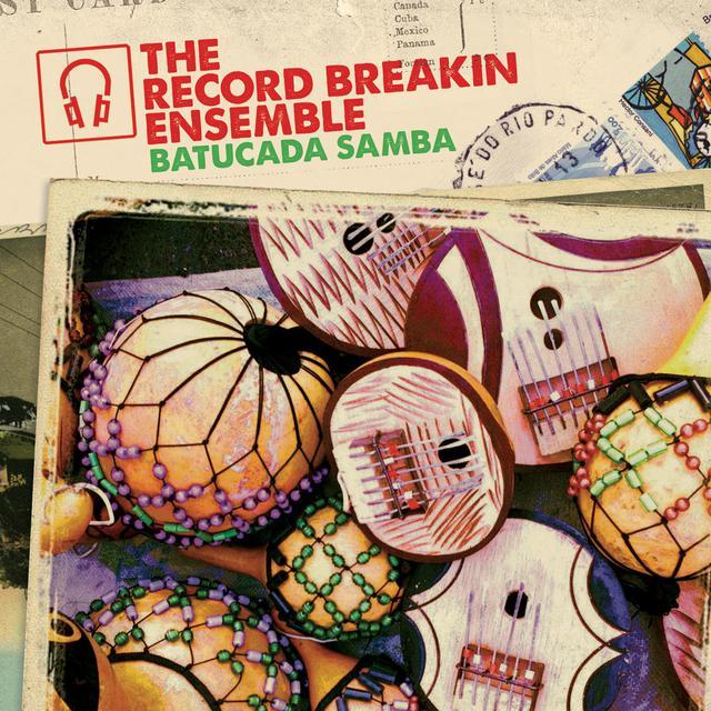 Record Breakin' Ensemble BATUCADA (OSAGE REMIX) / PELA (SOL POWER ALL-STARS Vinyl Record