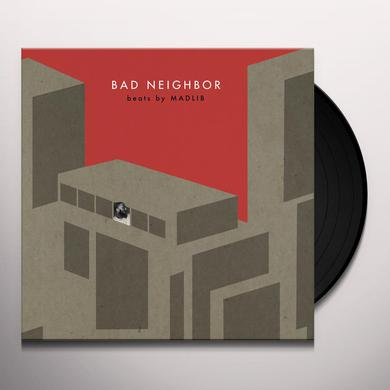 Madlib BAD NEIGHBOR INSTRUMENTALS Vinyl Record