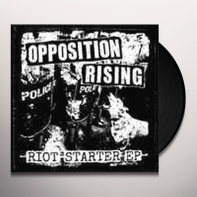 Opposition Rising RIOT STARTER Vinyl Record