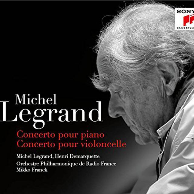 Michel Legrand CONCERTO POUR PIANO / CONCERTO POUR VIOLONCELLE Vinyl Record