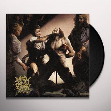 VENOM PRISON ANIMUS (LIMITED YELLOW/BLACK SPATTER VERSION) Vinyl Record