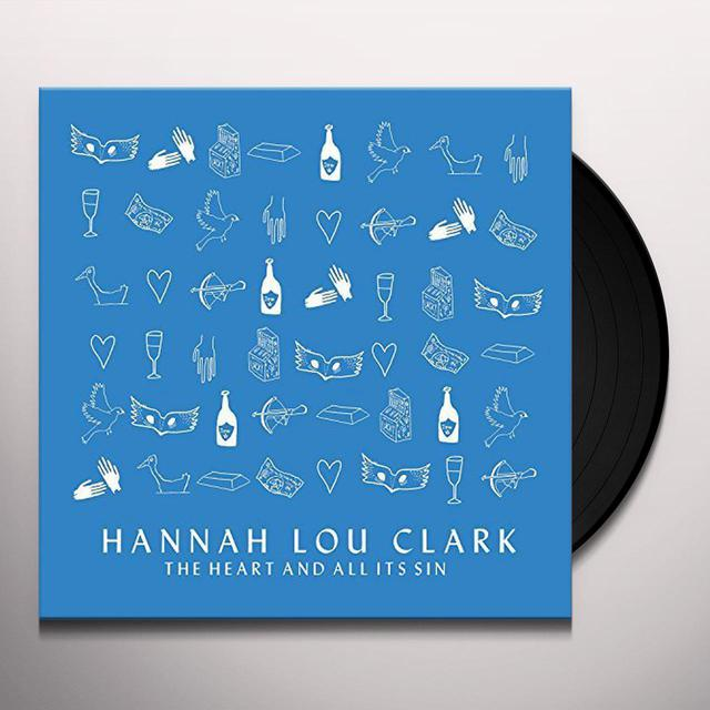 Hannah Lou Clark HEART & ALL ITS SIN Vinyl Record