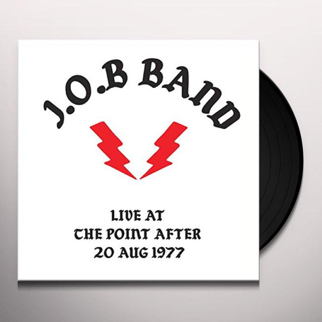 J.O.B LIVE AT THE POINT AFTER Vinyl Record