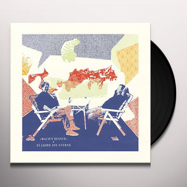 Mach'S Besser: 25 Jahre Die Sterne: Deluxe / Var Vinyl Record