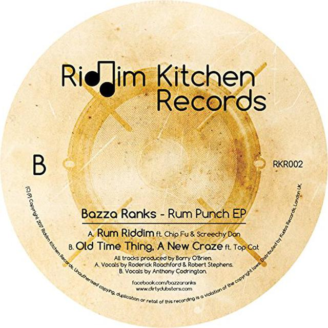 Bazza Ranks RUM PUNCH Vinyl Record