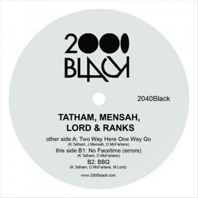 TATHAM MENSAH LORD & RANKS TWO WAY HERE ONE WAY GO Vinyl Record