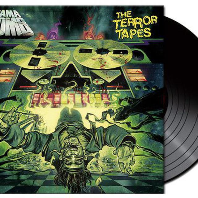 Gama Bomb TERROR TAPES Vinyl Record