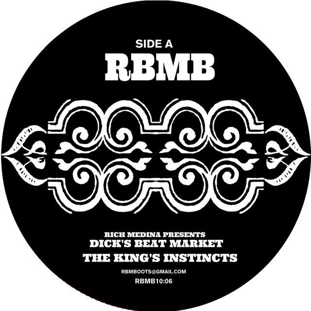 Rich Medina KING'S INSTINCTS Vinyl Record