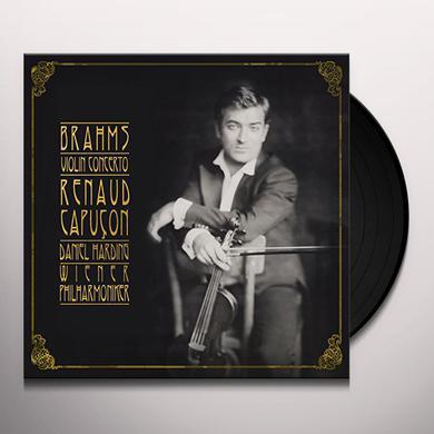 Brahms / Capucon / Wiener Philharmoniker / Harding VIOLIN CONCERTO Vinyl Record