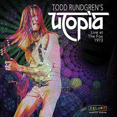 Todd Rundgren TODD RUNGREN'S UTOPIA LIVE AT THE FOX THEATER 1973 Vinyl Record