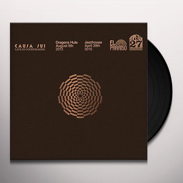 Causa Sui LIVE IN COPENHAGEN Vinyl Record
