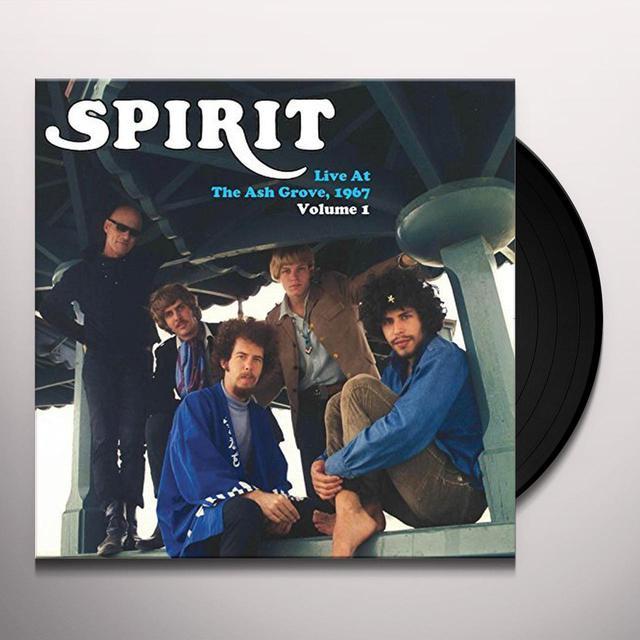 Spirit LIVE AT THE ASH GROVE 1967 - VOL. 1 Vinyl Record
