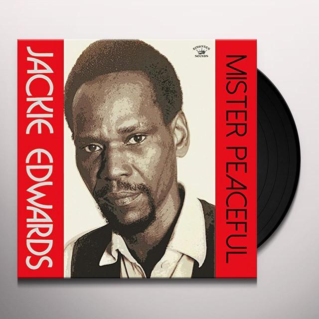 Jackie Edwards MISTER PEACEFUL Vinyl Record