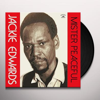 Jackie Edwards MISTER PEACEFUL Vinyl Record