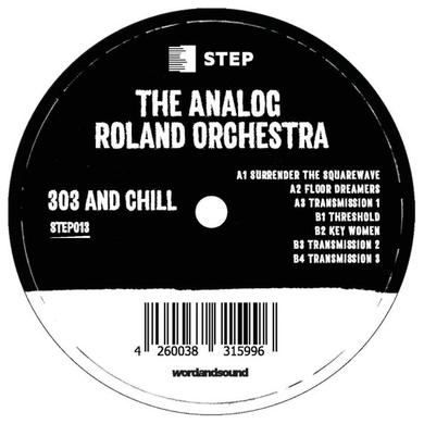Analog Roland Orchestra 303 AND CHILL Vinyl Record