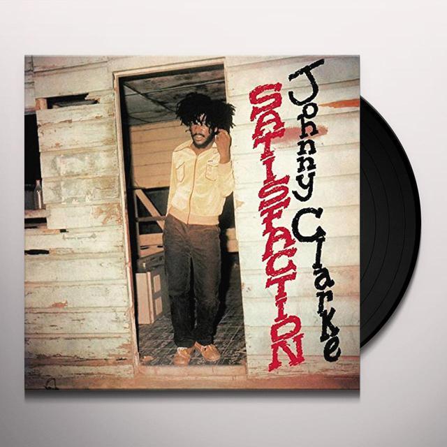 Johnny Clarke SATISFACTION Vinyl Record