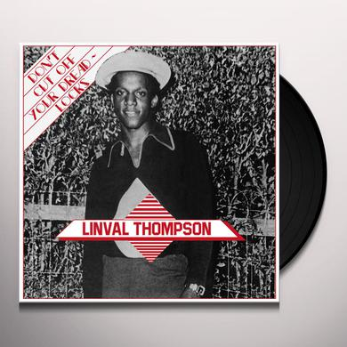 Linval Thompson DON'T CUT OFF YOUR DREADLOCKS Vinyl Record