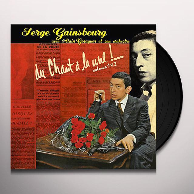 Serge Gainsbourg DU CHANT A LA UNE 1 & 2 Vinyl Record