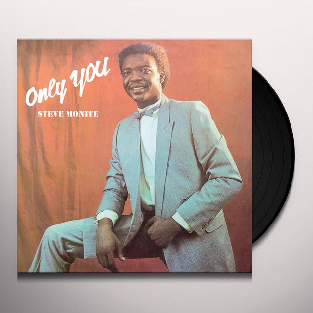 Steve Monite ONLY YOU Vinyl Record