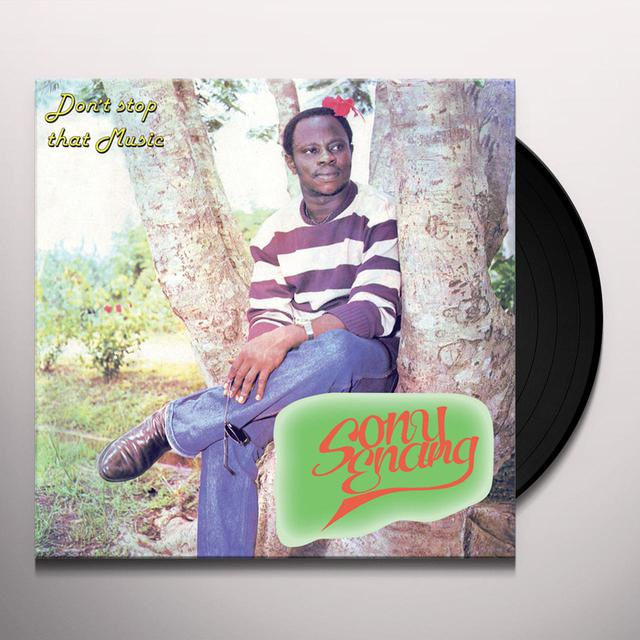 Sony Enang DON'T STOP THAT MUSIC Vinyl Record