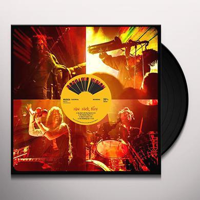 ECSTATIC VISION RAW ROCK FURY Vinyl Record