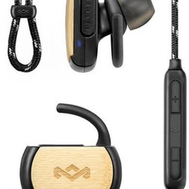 Headphones HOM EMFE053SB VOYAGE BLUETOOTH EARPHONES MIC BLACK