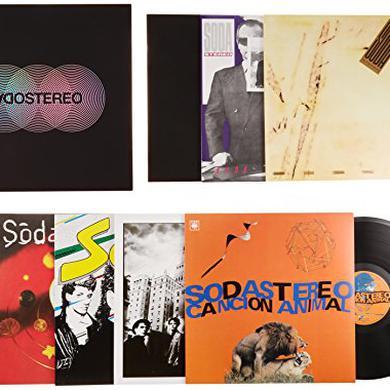 Soda Stereo CAJA NEGRA Vinyl Record