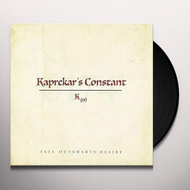 Kaprekars Constant FATE OUTSMARTS DESIRE Vinyl Record