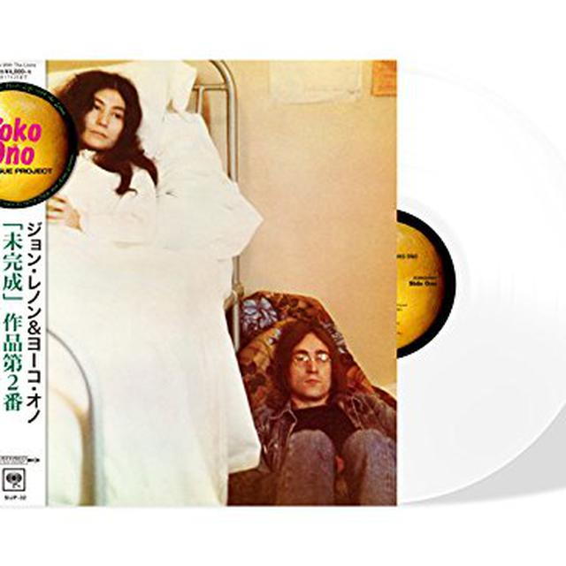 John Lennon / Yoko Ono UNFINISHED MUSIC NO 2: LIFE WITH THE LIONS Vinyl Record