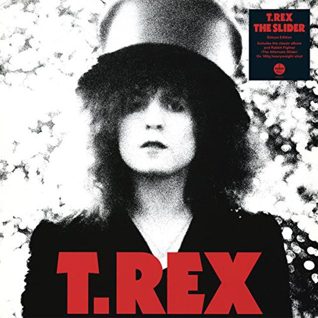 T-Rex SLIDER (DELUXE VERSION BLACK VINYL) Vinyl Record